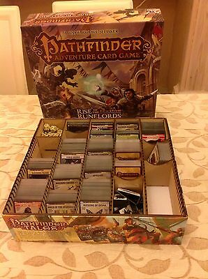 Pathfinder Adventure Card Game Plain Mdf Storage Box Trading Cards Fantasy