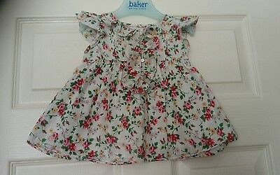 baby girls floral ralph Lauren top age 6 months