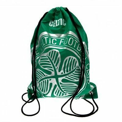 Celtic FC Foil Print Gym Bag Official Licensed Product Football Club Team