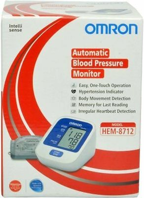 Omron HEM -8712 Upper Arm BP Monitor -  Automatic Blood Pressure Monitor