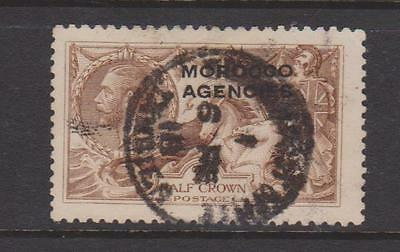Morocco Agencies 1914/31 2/6 Chocolate Brown Used