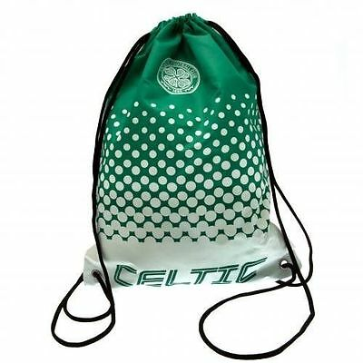 Official Licensed Football Product Celtic FC Gym Bag Fade Swim / School Green