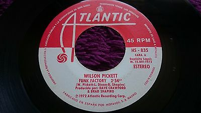 "Wilson Pickett ‎– Fuego Y Agua ,  Vinyl, 7"", Single, 1972 , Spain , HS 835"