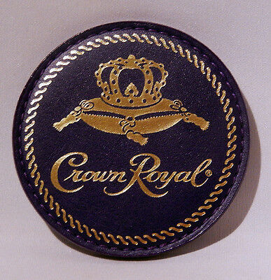 CROWN ROYAL CANADIAN WHISKEY Man Cave COASTER Mint Unused Condition (13 avail)