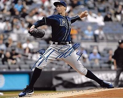 tampa bay rays blake snell  signed 8x10 autograph
