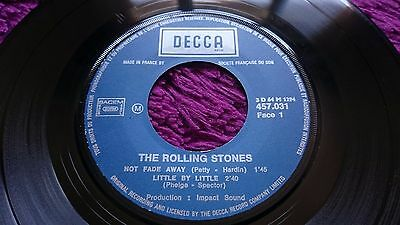 "The Rolling Stones ‎– Not Fade Away ,  Vinyl, 7"", EP , 1964 , France , 457 031"
