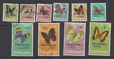 Tanzania 1973 Official Set Used