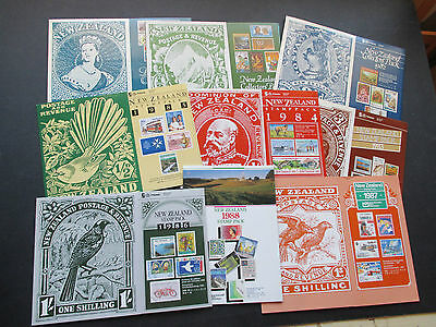 New Zealand - All Year Packs For Period 1980/1988 - Fine And Complete