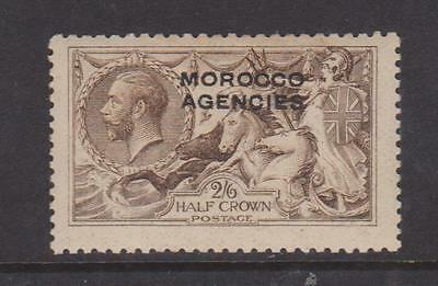 Morocco Agencies 1914 2/6 Sepia Brown Mounted Mint