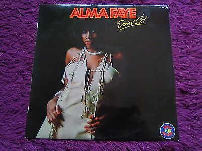 Alma Faye ‎– Doin' It ,  Vinyl, LP, Album , 1979 , Spain ,  ZL-285 F