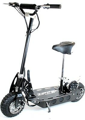 Zipper 500W Electric Scooter with padded seat. New but limited stock.