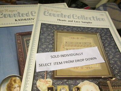 Pat Rogers' Counted Collection Cross Stitch CHART-Your Choice