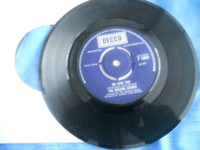 THE ROLLING STONES,WE LOVE YOU,1967 DECCA LABLE,CLASSIC 60s,.EX-.