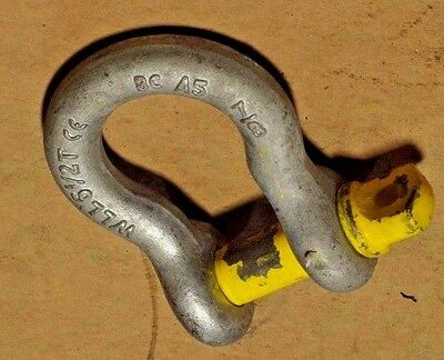 "Crosby 7/8"" Shackle WLL 6.5 ton (1 PER PURCHASE)"