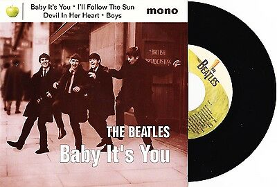 "The Beatles - Baby It's You / I'll Follow The Sun + 2 EP - 7"" US Vinyl 45 - New"