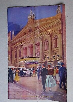 London Palladium Programme- 1951 - Leslie Welch-Ted Ray-  Sugar Chile Robinson