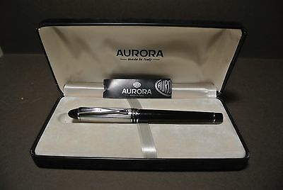Aurora Ipsilon Fountain Pen With Solid Sterling Silver Cap Made in Italy