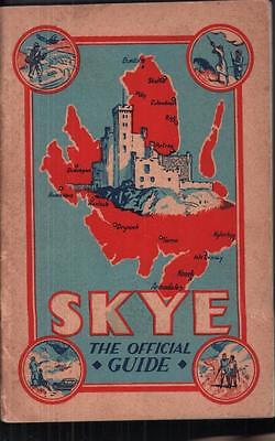 Official Guide Isle Skye 1925 Scotland vintage Simpson 1920s local adverts ads