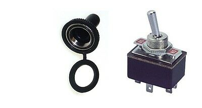 1 Pc - Dpst (On-On) 6P Std Toggle Switch 4Amp@125V Rubber Cover # Dp3/66-5001