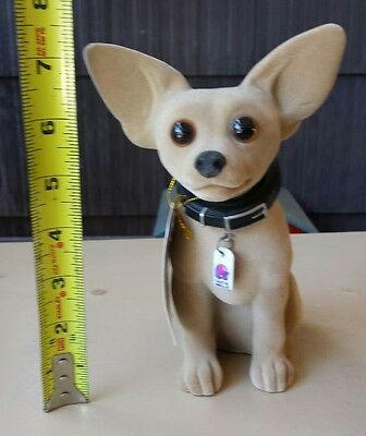 7 1/2 inch Taco Bell Chihuahua Bobblehead with Tag surface isdues