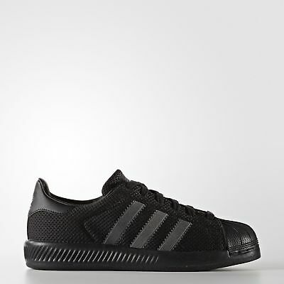 New adidas Originals Superstar Bounce Shoes BB0330 Kids' Black Sneakers