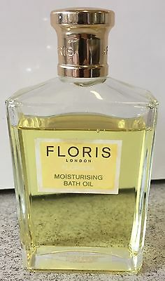 Floris Bath Oil Florissa 100ml Concentrated Bath Essence Part Used