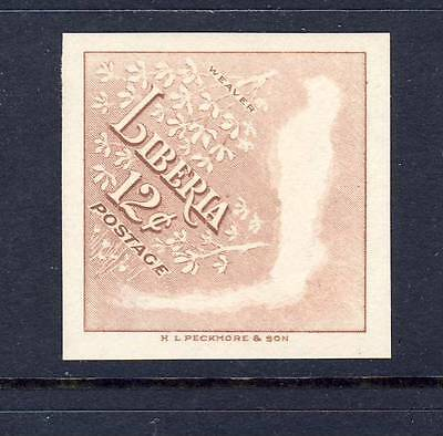 Liberia 1953  Error, bird is printed on backside Imperf. MNH