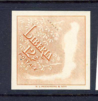 Liberia 1953  Error, Unfinished printing MNH