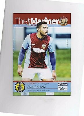15/16 South Shields V Whickham (Northern League Division 2)