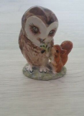 Beatrix Potter 'Old Mr Brown' Owl Figurine Beswick F Warne & Co Ltd