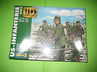Us Infantry Ww Ii By Revell Figures 1/72 - Ref.2503