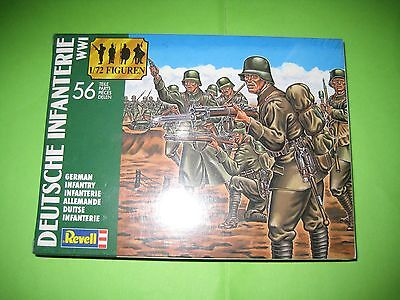 German Infantry Ww I By Revell Figures 1/72 - Ref.2504