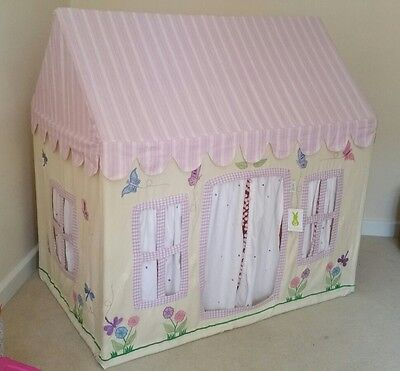Win Green Butterfly Cottage Tent Play House small brand new