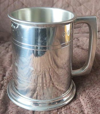 Half Pint Plain Pewter Tankard Brand New In Box