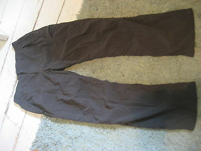 """the north face gray walking hiking trousers 32"""" - 34"""" elasticated waist 32"""" leg"""