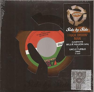 "Willie Nelson / Uncle Tupelo ""Truck Drivin' Man"" 7""  Vinyl  RSD"