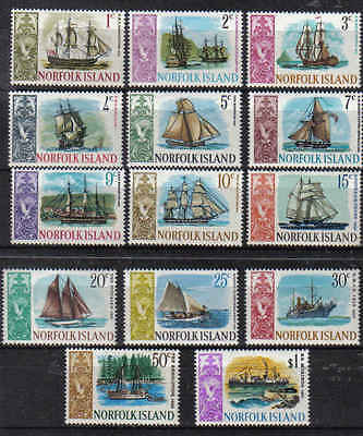 STAMPS  NORFOLK  ISLAND  SELECTION  1967  SHIPS      (MNH)   lot 27