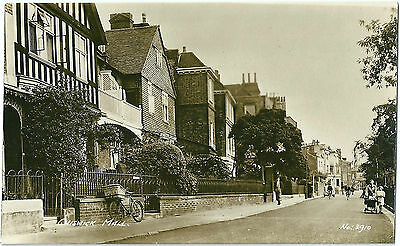 Oxford House Chiswick Mall Chiswick. Real Photographic (Rp) Postcard No. 3910