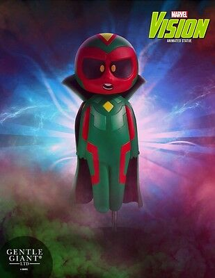 Vision Animated Marvel Statue by Skottie Young and Gentle Giant Studios