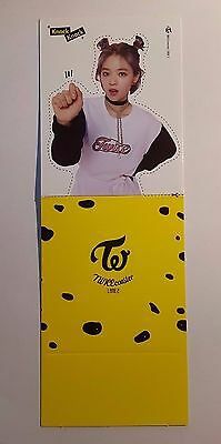 TWICE JUNGYEON Official photocard Coaster LANE 2 Knock Knock ( Standee ver. )
