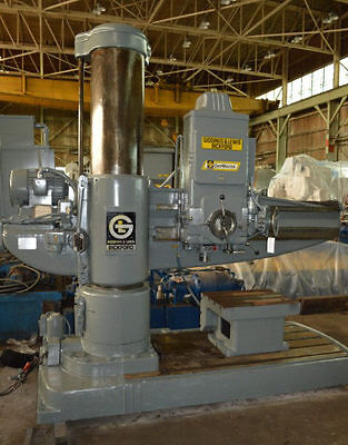 "6'19"" Giddings & Lewis/bickford ""chipmaster 956"" Radial Drill - #28088"
