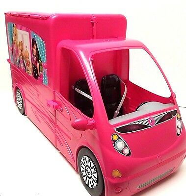 Mattel Barbie Sisters Life In The Dreamhouse Deluxe Camper RV Motor Home 2012
