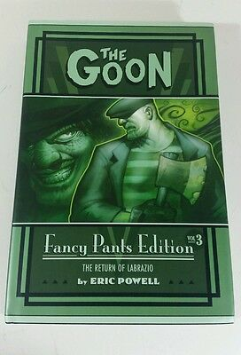 Comic VO The Goon Fancy pants edition vol 3 signed Eric Powell Limited 1010 exp!