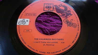 "The Chambers Brothers ‎– I Can't Turn You Loose , Vinyl, 7"", Single ,1968, Spain"