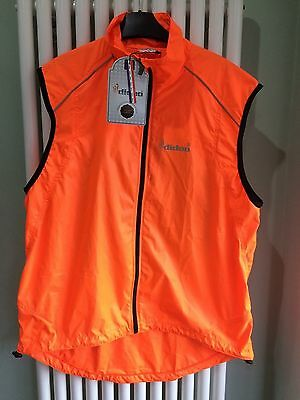 Cycling gilet high viz vest size L Large
