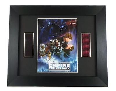 STAR WARS FILM CELL EMPIRE STRIKES BACK FRAMED Movie Memorabilia STAR WARS GIFTS
