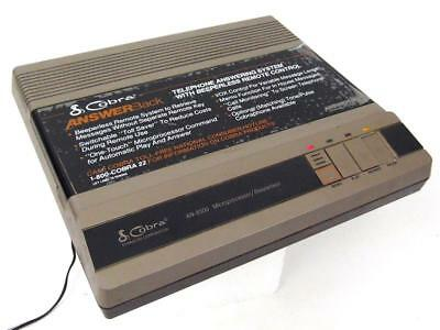 Vintage COBRA Dynascan AN-8500 Microprocessor Cassette Tape Answering Machine
