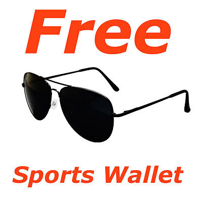 Free Golfers Storage Wallet With Avaitor Sunglasses