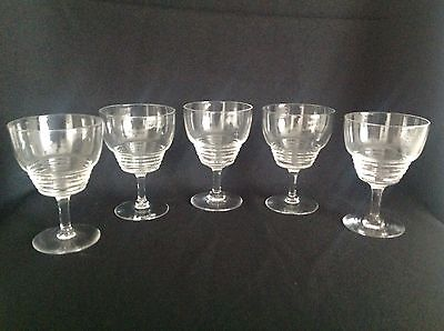 Stuart Crystal Wine Glasses