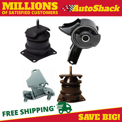 New Front and Rear Engine Mount Package fits Acura TL 3.2L Honda Accord 3.0L